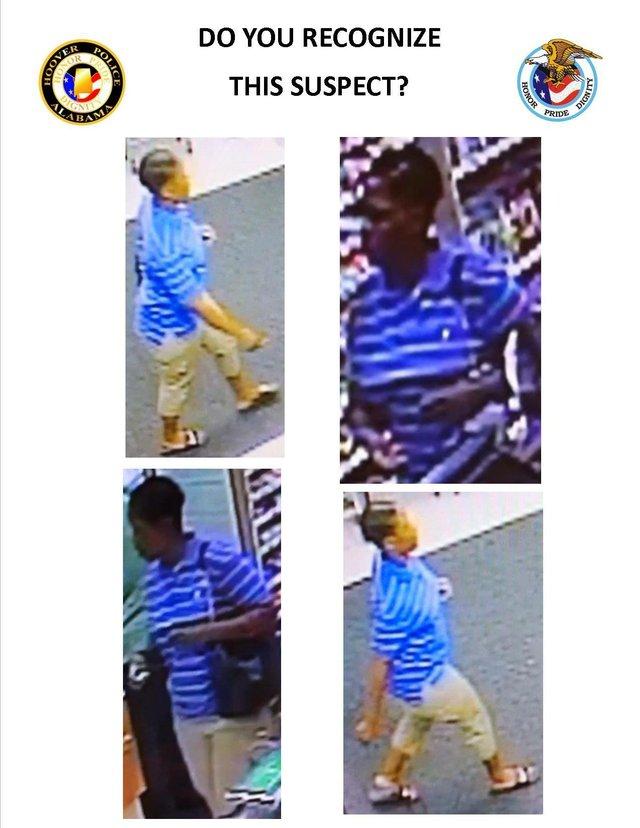 Publix theft suspect