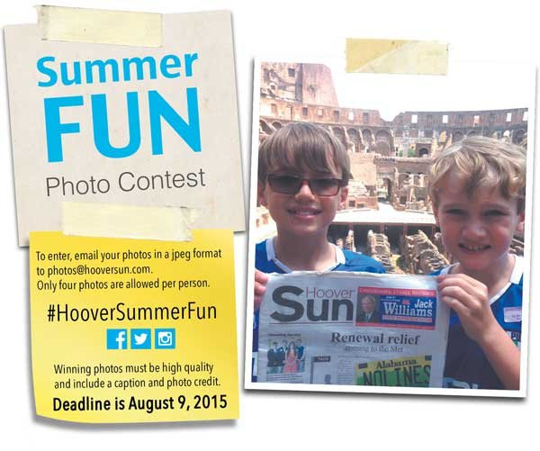 Hoover Summer Fun Photo Contest
