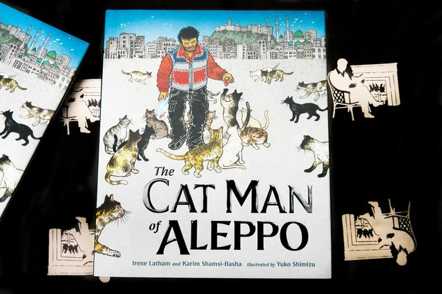 Cat Man of Aleppo Cover