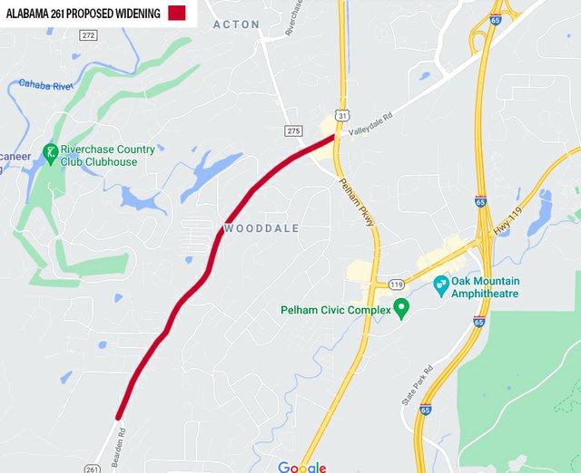 Alabama 261 Proposed Widening.jpg