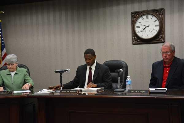 Hoover School Board meeting