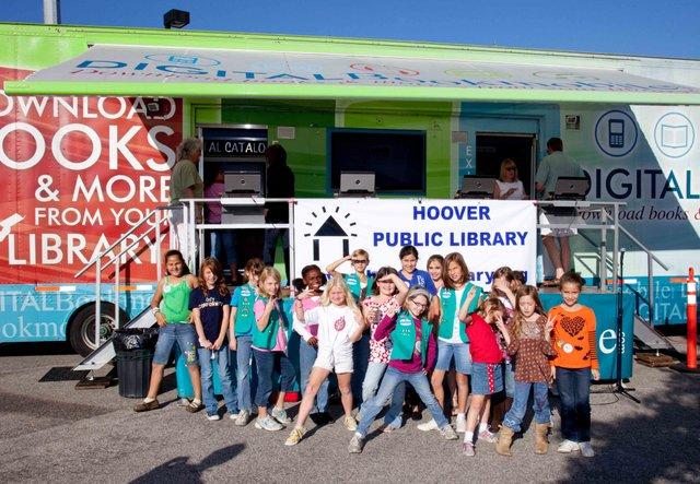 Digital Bookmobile