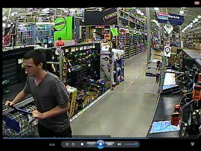Lowe's theft suspect