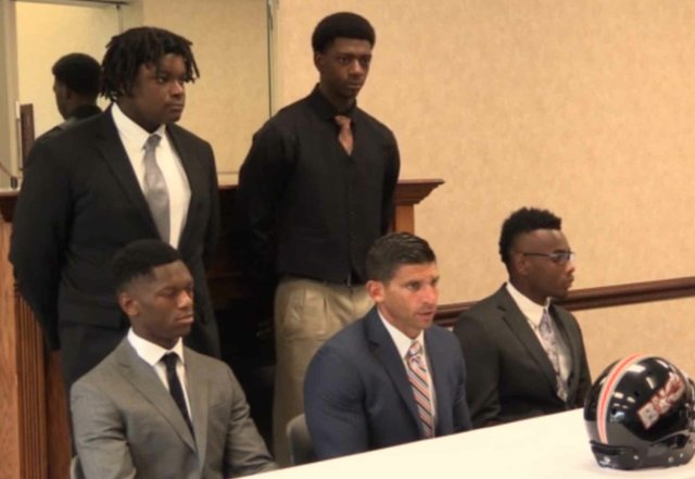 Hoover Football Media Days Press Conference