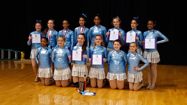 Berry Middle Dance Team