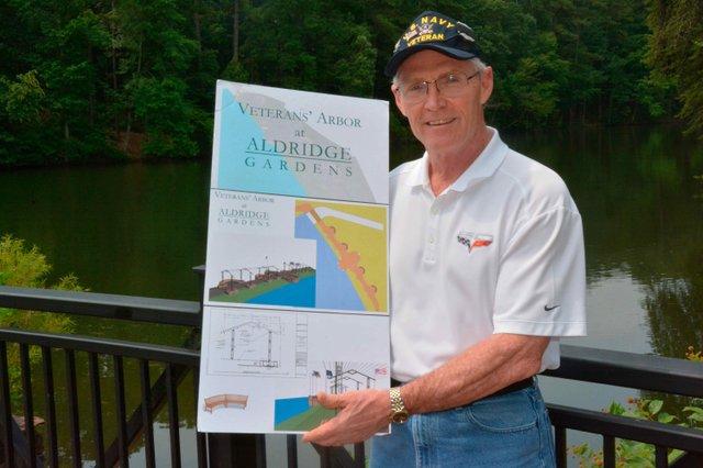 Aldridge Gardens Veterans Arbor