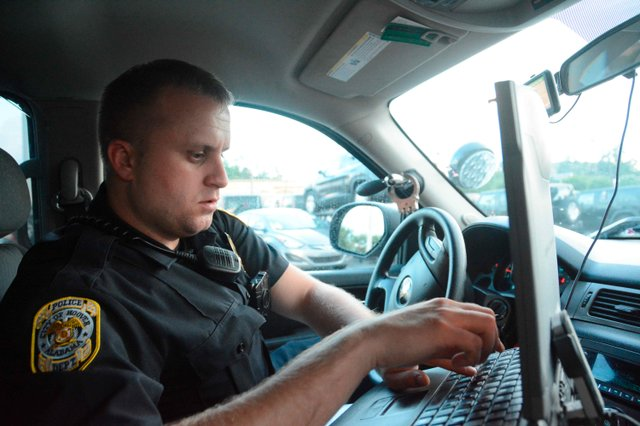 Hoover PD Officer Brohl