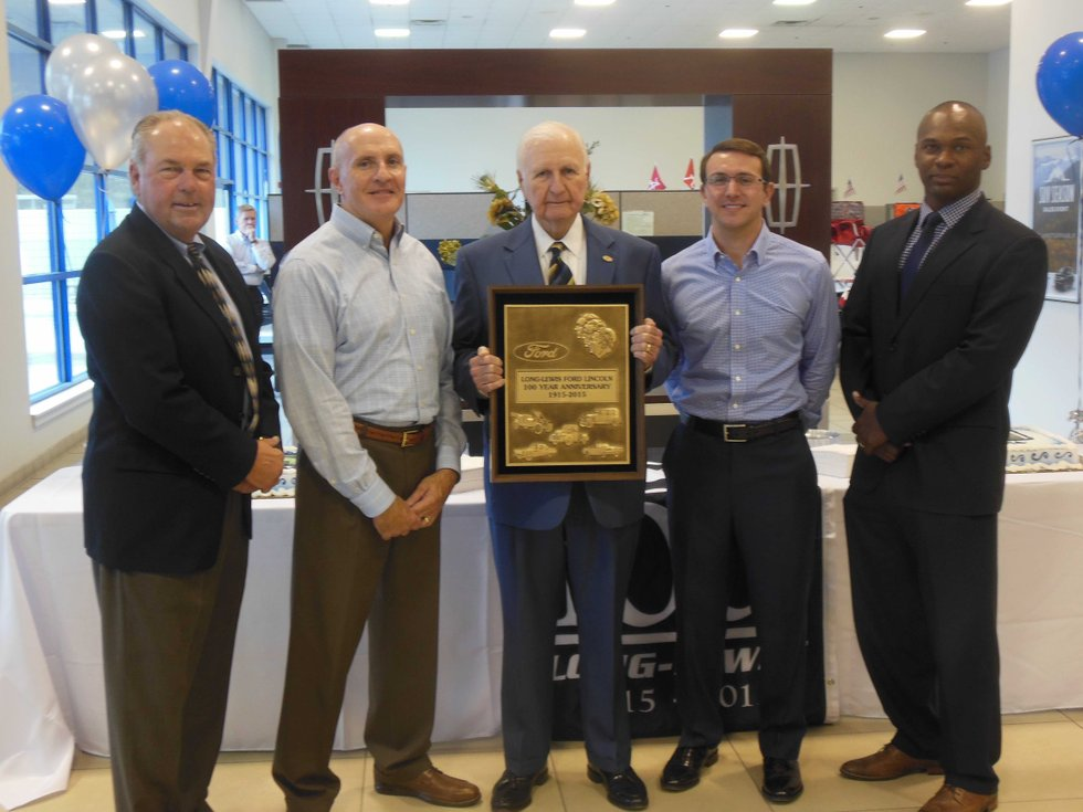 Long Lewis Ford >> Long-Lewis auto dealership in Hoover celebrates 100 years as official Ford franchise - HooverSun.com