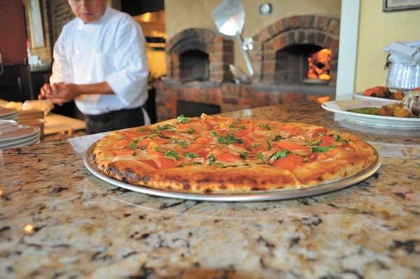 Margherita Pizza at The Villaggio