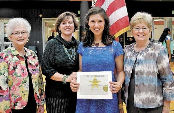 Olivia Butler wins scholarship