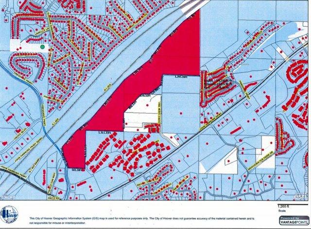 Hidden Valley Apartments map 1