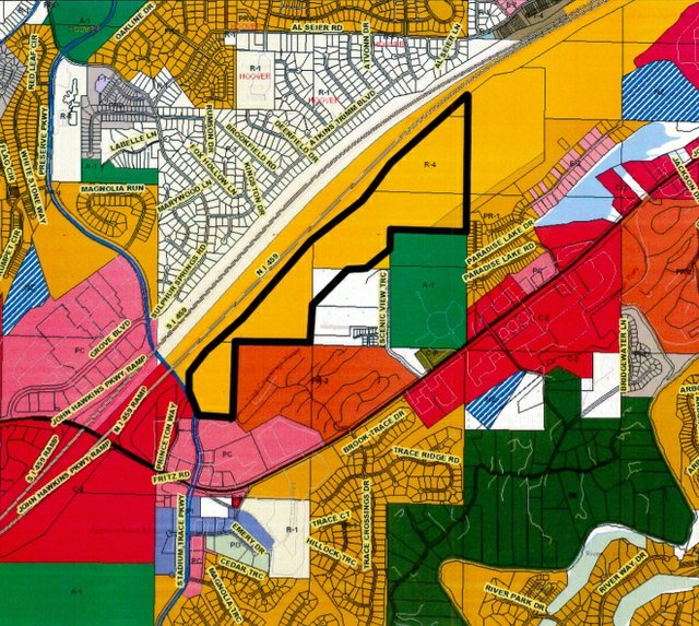 Hidden Valley Apartments map 2