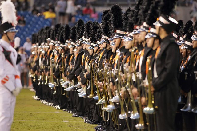 Hoover marching band 9-15-15