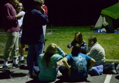 Bluff Park UMC youth 11-10-15