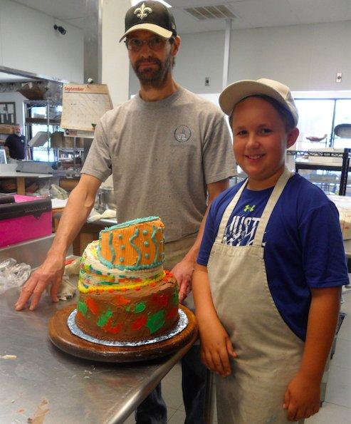 Magic Muffins birthday cake