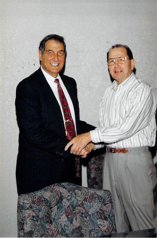 George Farmer Gene Stallings 1998
