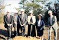 George Farmer Hoover library 2nd groundbreaking 1999