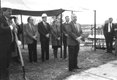 Georger Farmer Hoover library groundbreaking 1991