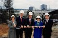 Hoover Public Library groundbreaking 1991