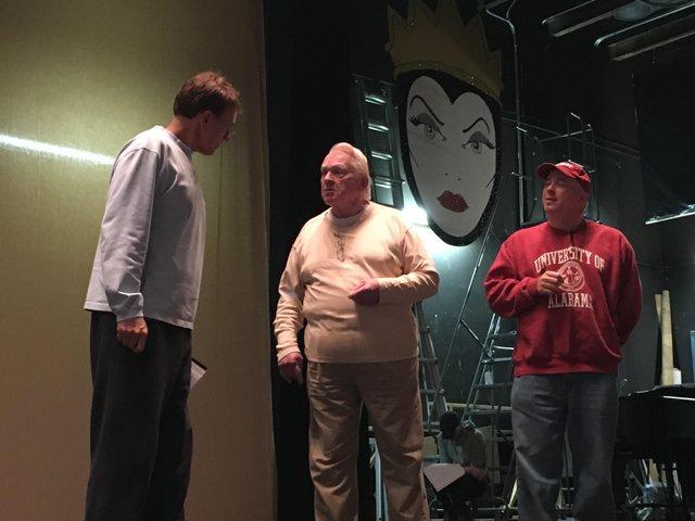 Scrooge rehearsal 2