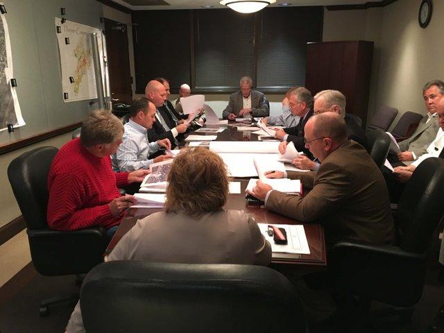 Hoover planning commission Dec 2015