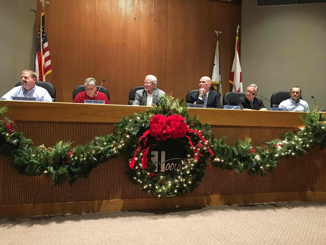 Hoover planning commission Dec 2015