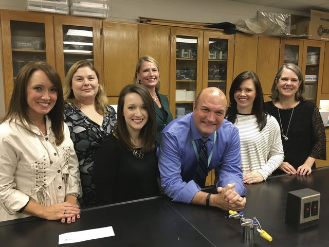 SPHS science teachers