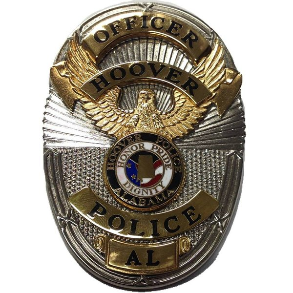 Hoover police badge