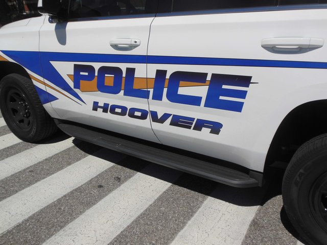 Hoover police vehicle (2)