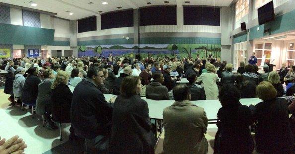 Lake Cyrus community meeting 1-6-16