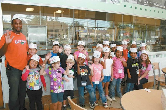 Green Valley Elementary  takes a 'sweet' field trip