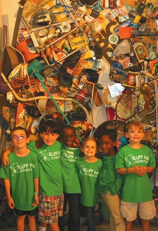 First graders visit Birmingham-Southern, study environmental responsibility