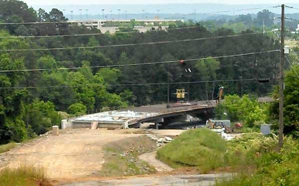 Chapel Lane extension construction