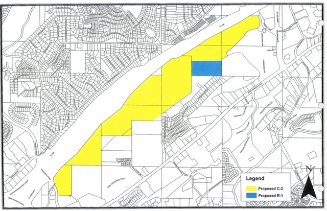 I-459 apartment rezoning