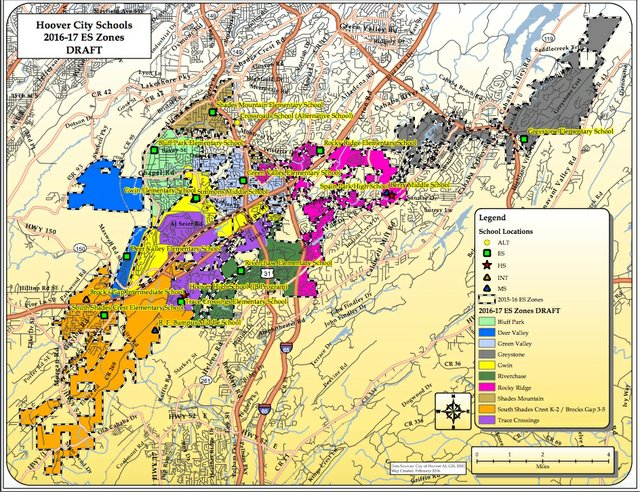 Hoover elem 2016-17 zoning map draft 2-4-16