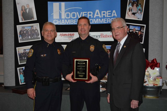 Hoover Police Officer of the Year 2015 (2)