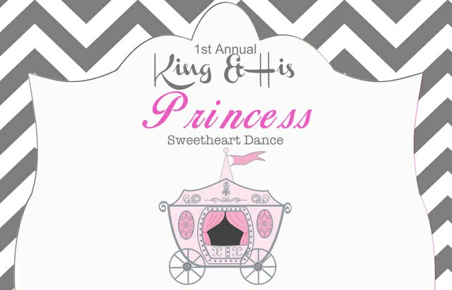King and His Princess Sweetheart Dance