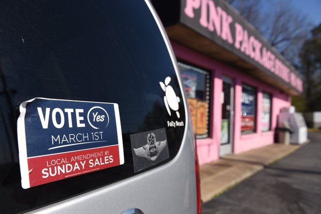 Sunday alcohol sales vote
