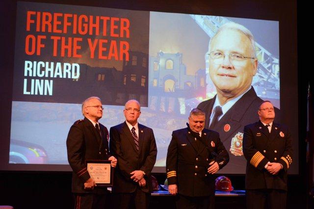 Hoover fire promotion ceremony 2016 Linn