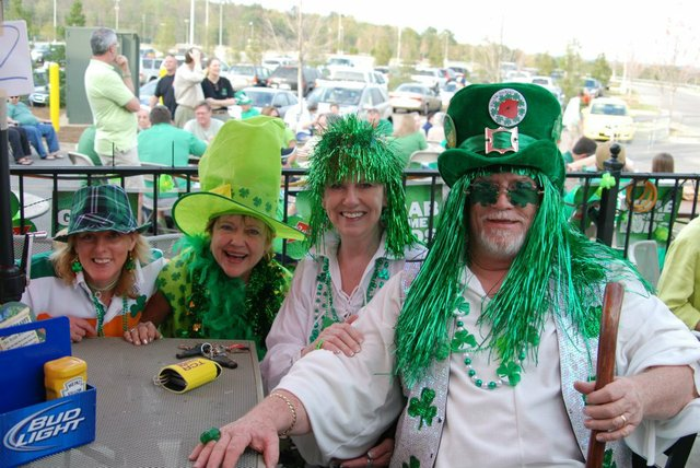 Beef O'Brady's St. Patrick's Day Celebration 2012