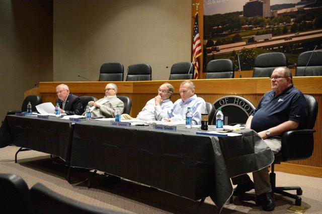 Hoover school board interviews April 2016