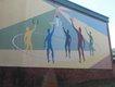 Old Berry High mural Nov 2015