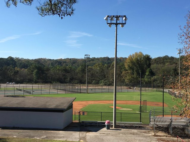 Old Berry High athletic complex Nov 2015