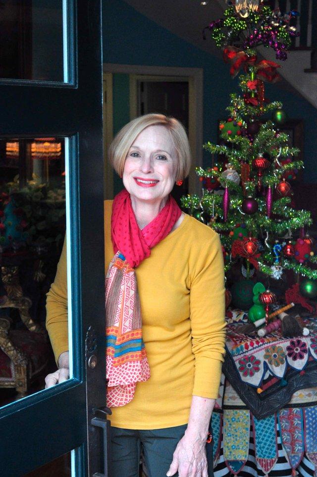 Barbara Randle Hoover-Randle Home Christmas