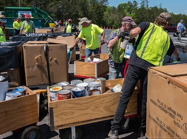Hoover Hazardous Waste Day 2016