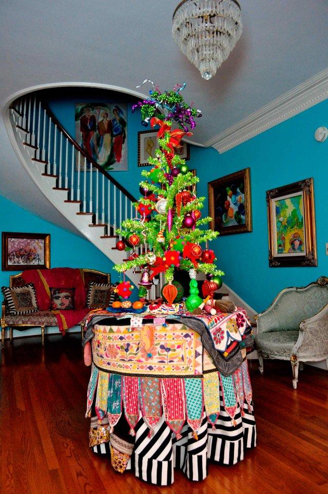 Hoover-Randle Home Christmas 1