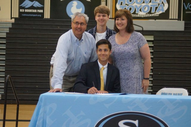 Parker Sturm signed to play soccer for Birmingham Southern College