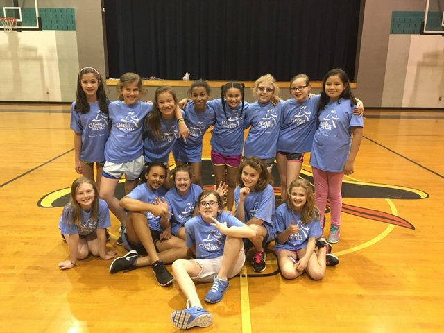Brock's Gap Girls on the Run Team 1