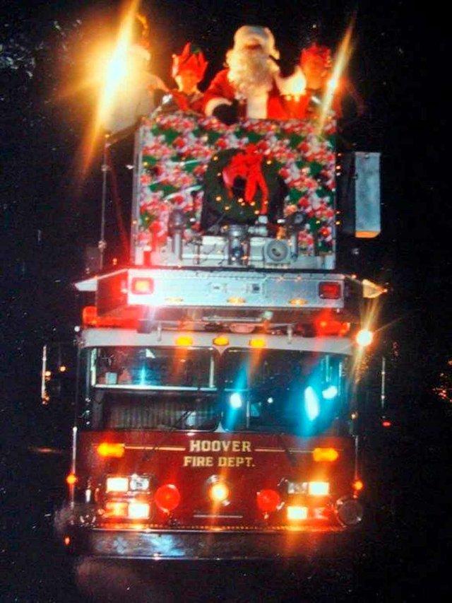 Santa Hoover Fire
