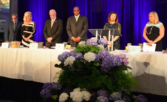 Mayor's Prayer Breakfast 2016 Lord's Prayer